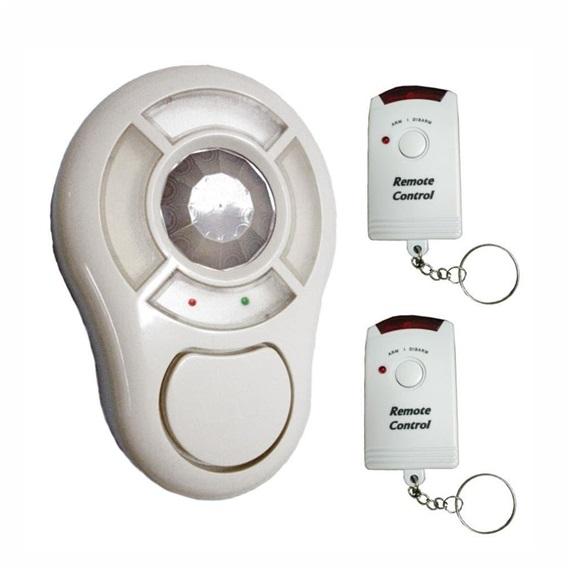 Alarme residencial e sensor de presença