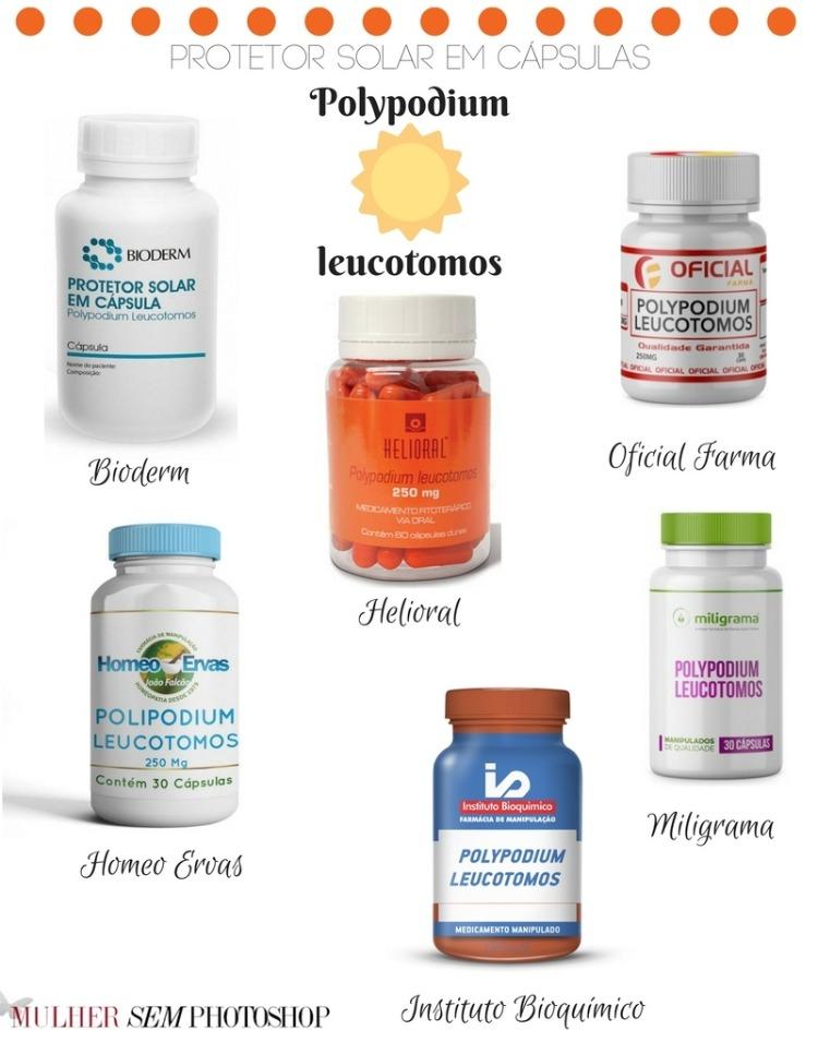 Polypodium leucotomos produtos - onde comprar
