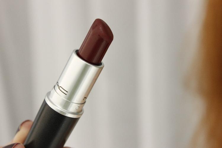 Diva Mac - resenha - batom vinho