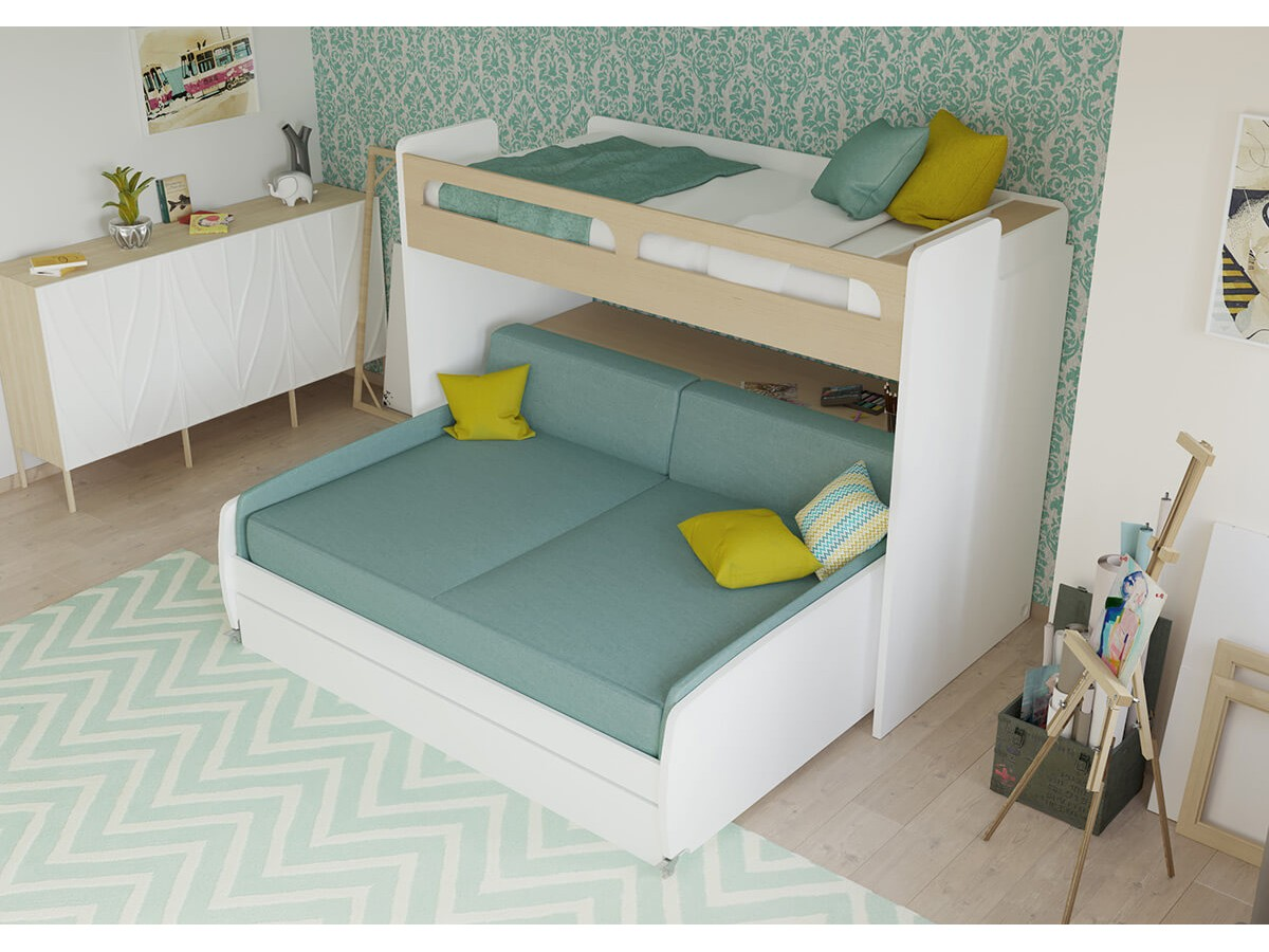 Peachy Bel Mondo Xl Twin Bunk Bed Over Full Xl Sofa Desk Trundle Twin Bunk Bed Over Full Xl Sofa Desk Mondo Xl Full Xl Bed Ikea Full Xl Bed Sheet Sets houzz-03 Full Xl Bed