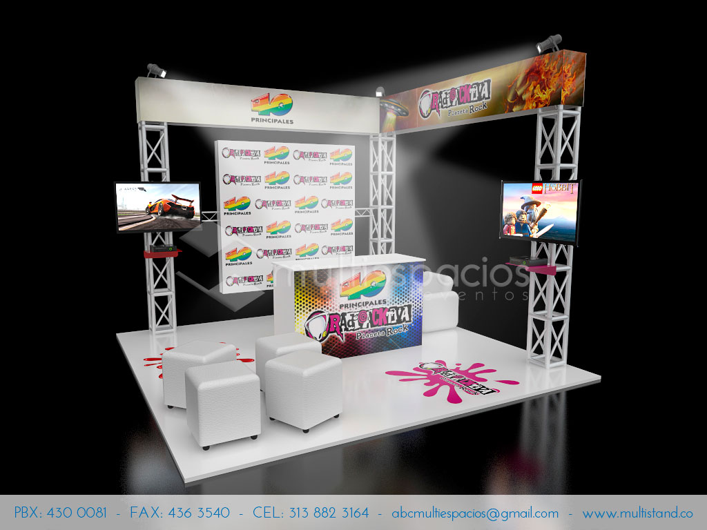 Stand 4m x 4m
