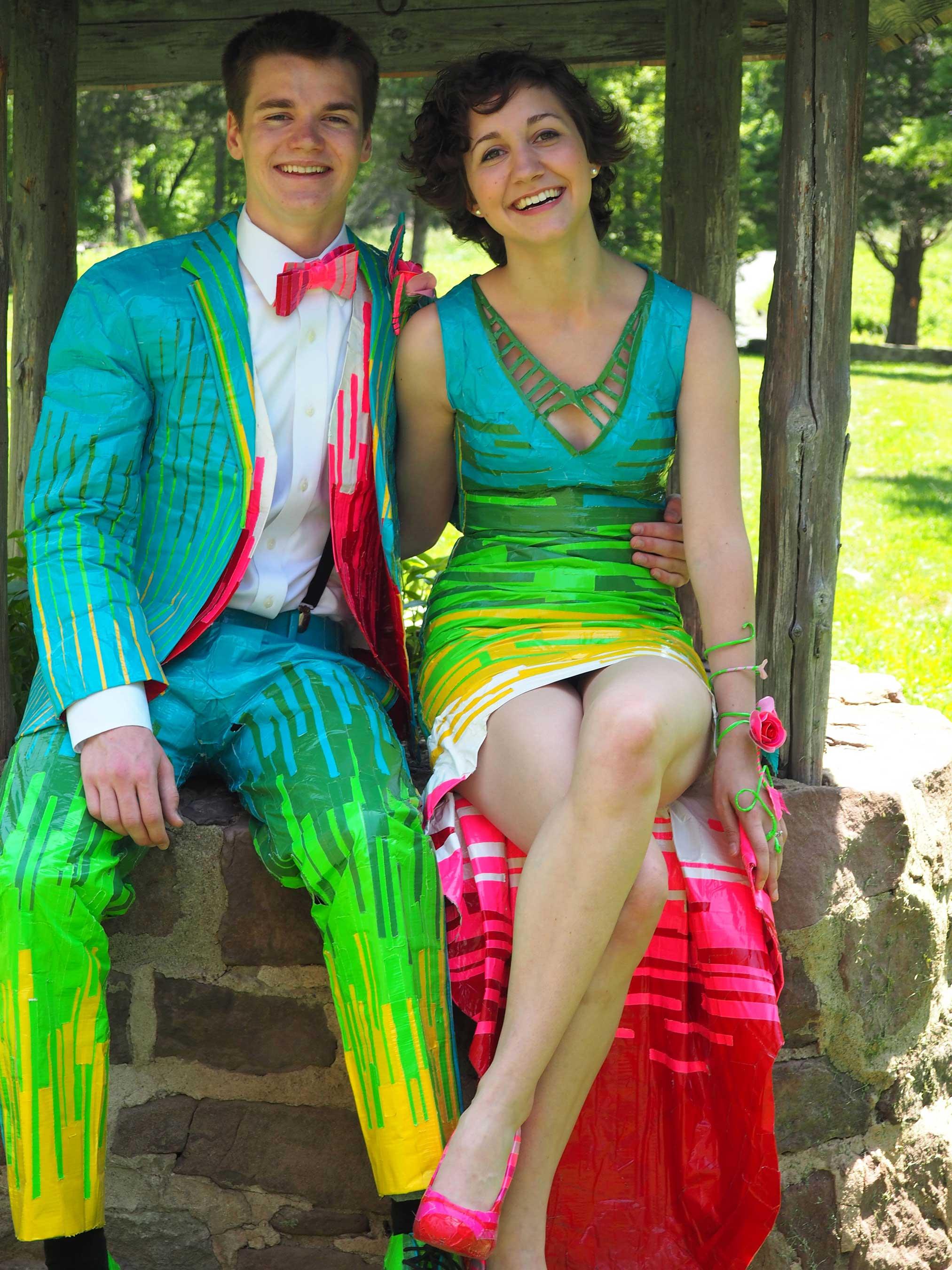 Fullsize Of Duct Tape Prom Dress