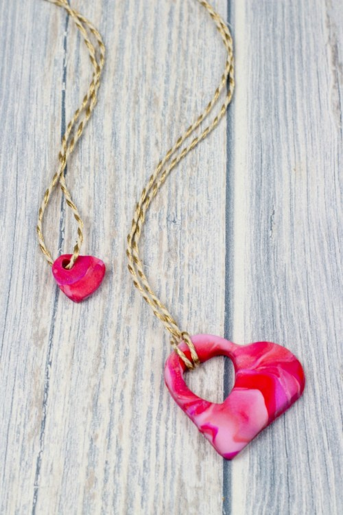 Absorbing Celebrateunconditional Love How To Make A Mor Child Heart Necklace How To Make A Polymer Clay Mor Madhouse Child Heart Necklace Mum