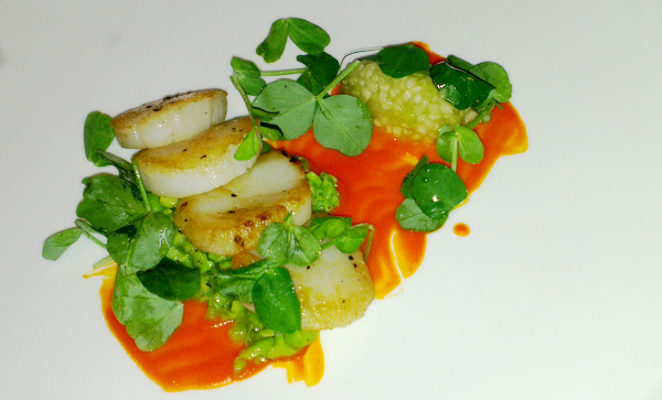 petrichor restaurant the cavendish hotel london scallops