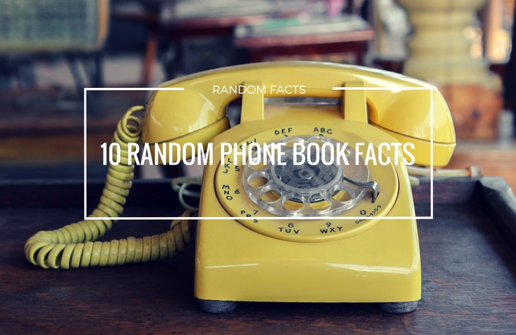 10 random telephone book facts