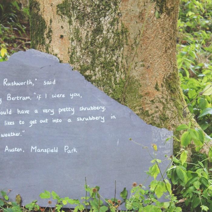Garden at Chawton House Library