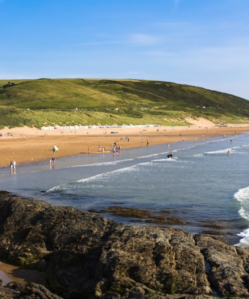 5 reasons to camp at Woolacombe Bay