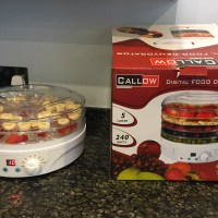 Callow Digital Food Dryer and Dehydrator - Review, Recipe & Give Away