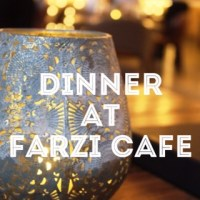 Dinner at Farzi Café Dubai- Review...