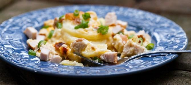 Creamy Turkey Breast Potato Casserole