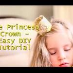 Lace Princess Crown – Easy DIY Video Tutorial