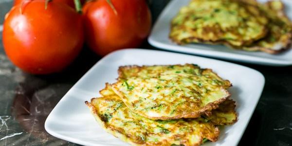 Healthy Zucchini Pancakes Recipe