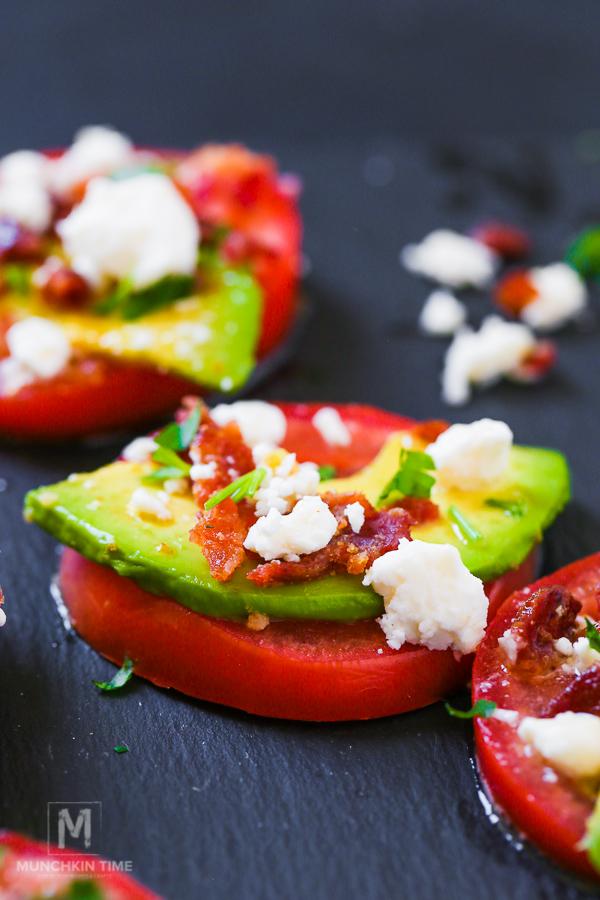 5-min Italian Vinaigrette Tomato Bites - Appetizer Recipe (Video Inside)