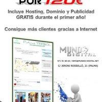 Páginas Web por solo 120€