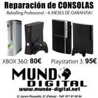 Reparación de XBOX 360 Y PS3