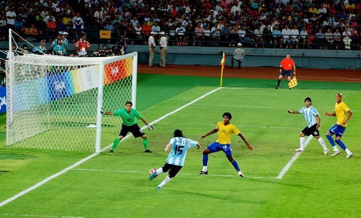 Olympics Lionel Messi Sergio Aguero