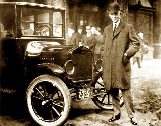 Henry Ford y un T 24 Centerdoor