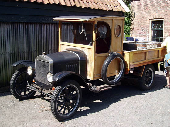 1924 Ford Mod T Camion Mundoautomotor
