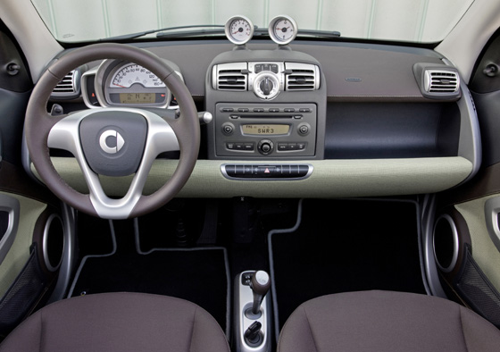 smart fortwo, limited three 2009