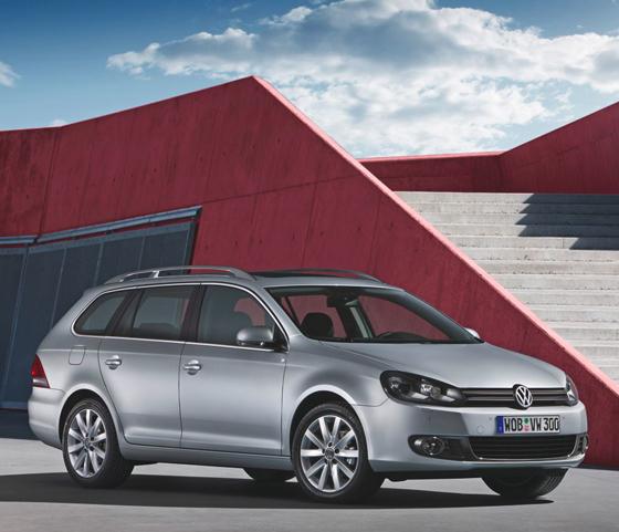 VW Golf Estate 2010