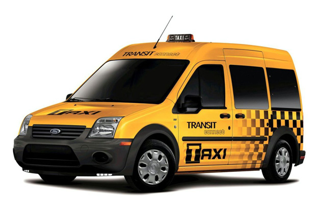 Ford Transit Conect Taxi 01