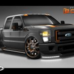 6-Cars by Kris and Airhead Kustoms Ford F-350 para el  SEMA