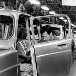 Renault 4 linea de montaje
