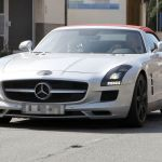 Mercedes Benz SLS Roadster 00