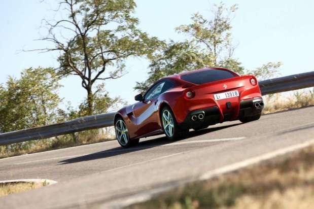 Ferrari F12 Berlinetta en las pruebas de Fiorano 2012  02