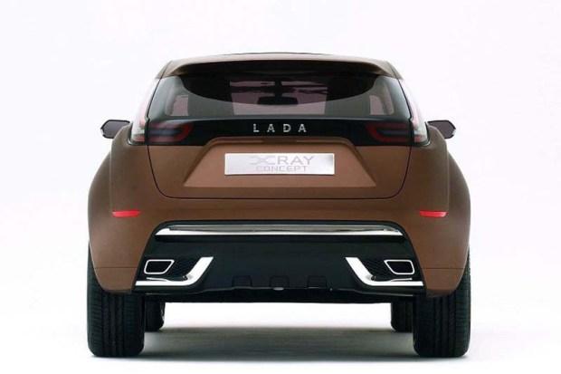 Lada X-Ray Concept en el salon de moscu 05