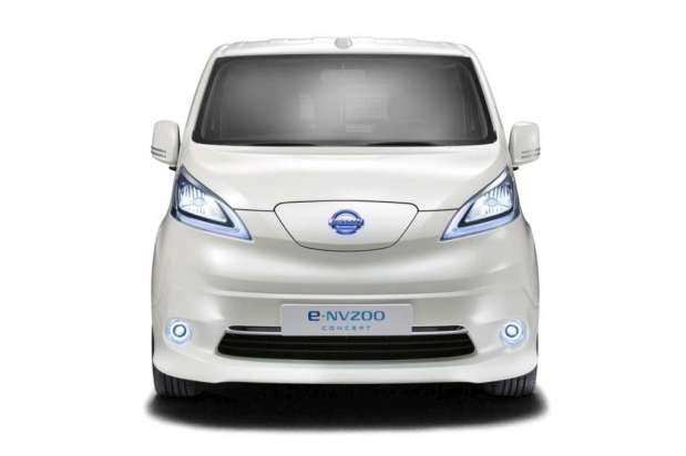 Nissan e-NV200 panel van concept 2012 11