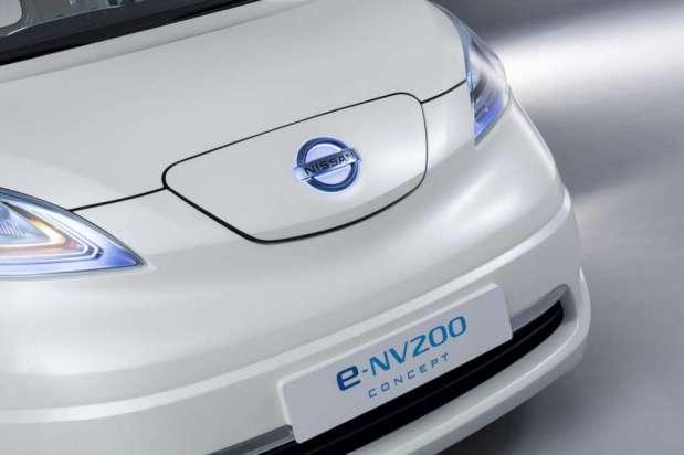 Nissan e-NV200 panel van concept 2012 12