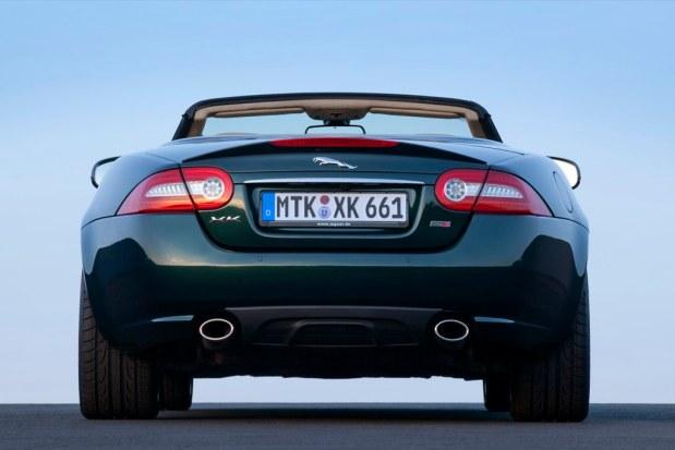 Pressefoto JaguarLandRover:  Jaguar XK 66 Cabriolet