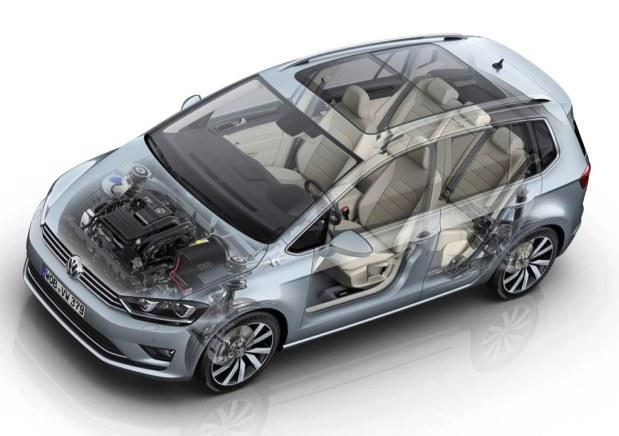 Der neue Volkswagen Golf Sportsvan