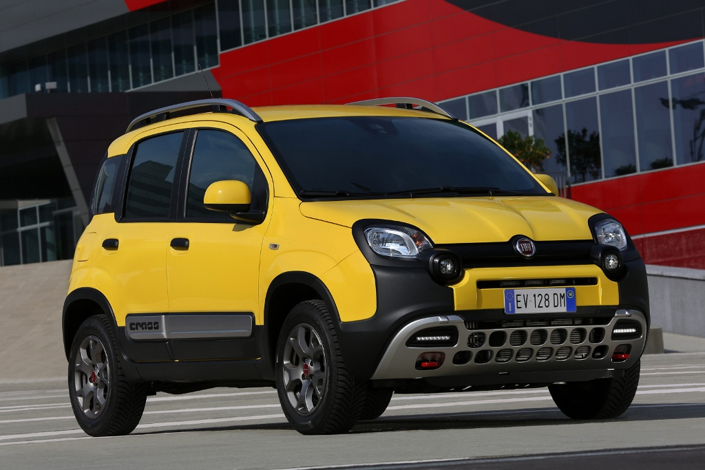 fiat panda cross 4 4 mundoautomotor. Black Bedroom Furniture Sets. Home Design Ideas