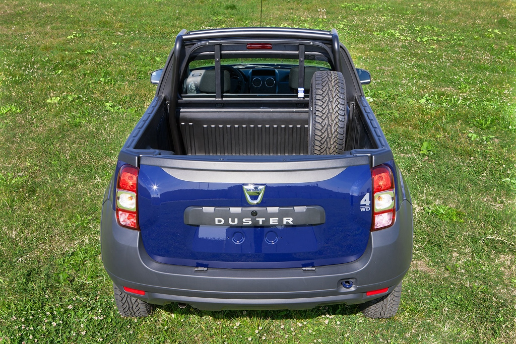 dacia duster pick up mundoautomotor. Black Bedroom Furniture Sets. Home Design Ideas