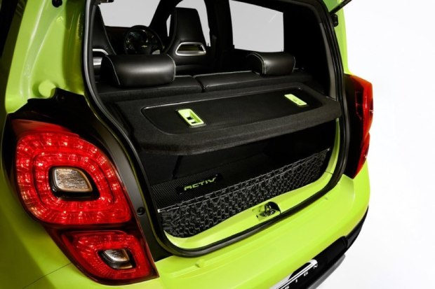 Chevrolet New Beat Activ Boot Space