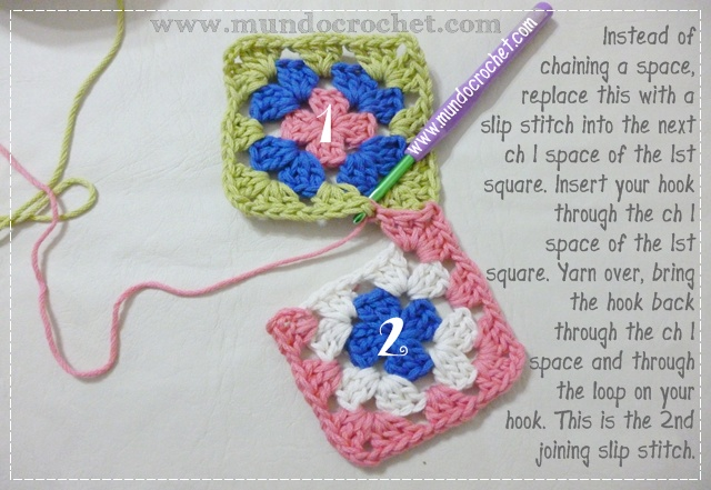How to join granny squares4