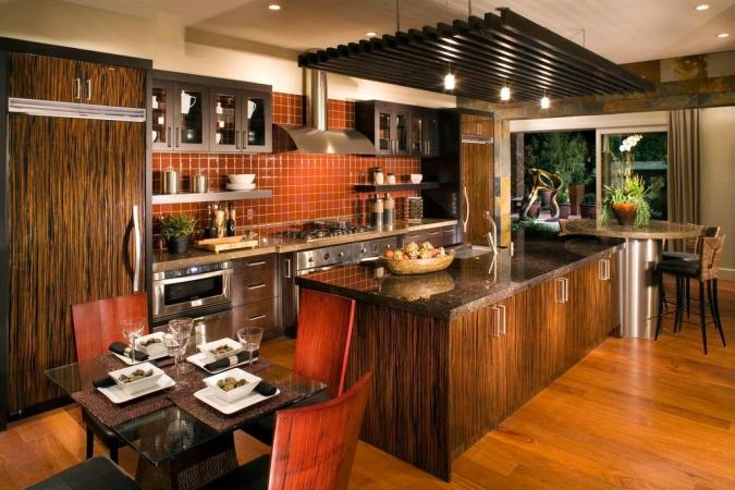 Cozinhas Planejadas rústicas também são muito requisitadas.