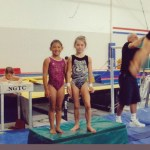 McKayla Maroney y Kyla Ross. Mejores amigas y ganadoras del Oro en gimnasia olmpica para EEUU
