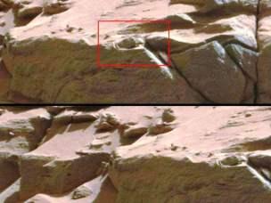 Compilación de Anomalías en Marte de 2014