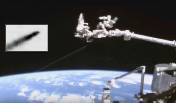 ¿Prueba de guerra espacial? Posible 'Fast Walker' visto por la cámara de la Estación Espacial