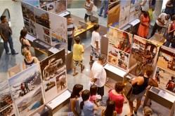 Exposição Mundo por Terra no Shopping Müller