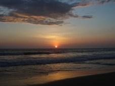 Pôr-do-sol no Pacífico - Equador