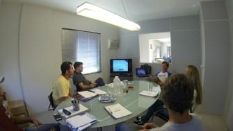 Aula teórica com Lu Marini em Santos