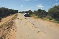 Péssimas estradas de Angola