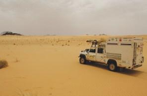 500km de Deserto de Saara na Mauritânia
