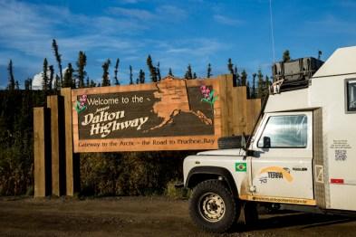 Início da Dalton Highway