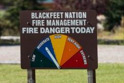 Perigo de fogo hoje?