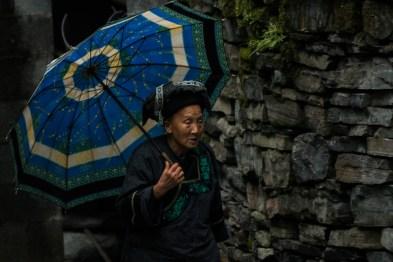 Dia de chuva em Dehang